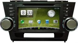 Штатная магнитола Сarmedia Toyota Highlander 2007-2013 U40 Windows CE + опция Android DT-5205