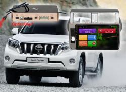 Штатная магнитола RedPower 10 дюймов 31265 IPS DSP Toyota Land Cruiser Prado 150 (2014-2017) Android 7