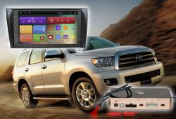 Штатная магнитола Redpower 31188 IPS DSP Toyota Sequoia/Tundra (2007-2013) Android 7