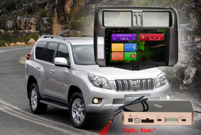 Штатная магнитола RedPower 9 дюймов 31065 IPS DSP Toyota Land Cruiser Prado 150 (2010-2013) Android 7